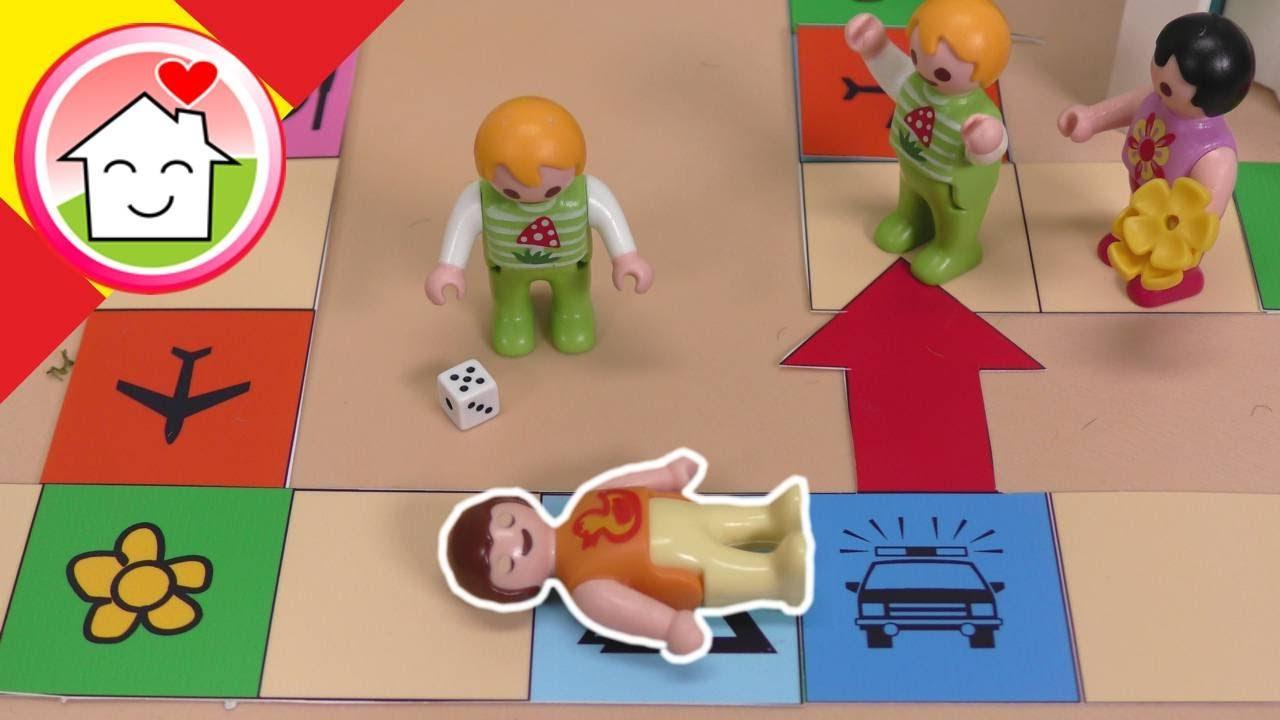 Playmobil en español Carrera en la guardería - La familia Hauser