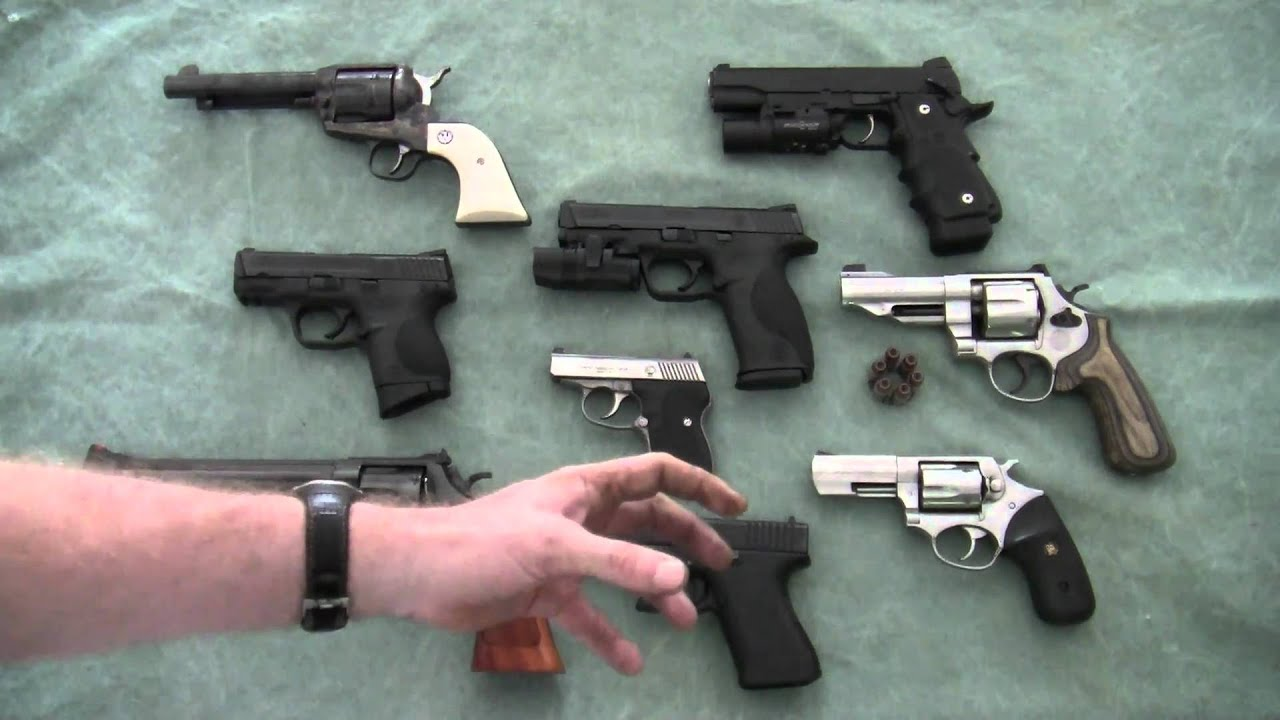 Best Handgun To Use For Home Protection