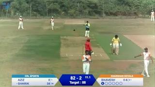 T20 SLCC: Kharghar Royals Vs CRL Sports