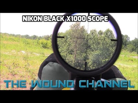 Nikon Black X1000 Long Range Scope Review