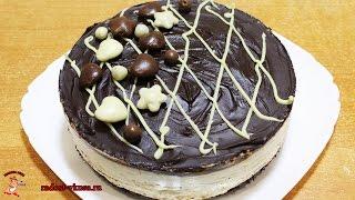 Австралийский шоколадный чизкейк с творогом.