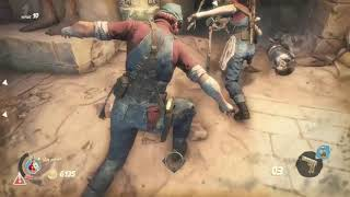 Strange brigade xbox live multiplayer fighting the skeletons n mummies part.4