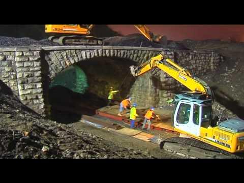 SIAC Demolition of Doyle's Bridge Monksland - Athlone