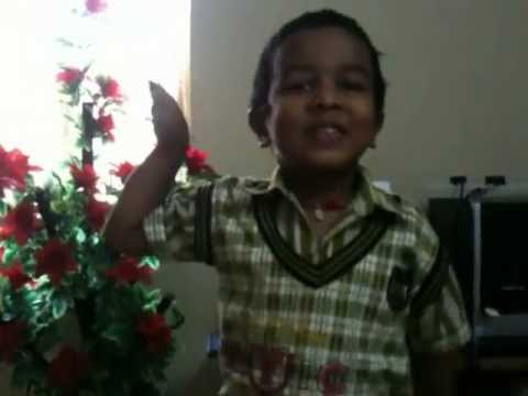Chudi jo khanki haaton mein by 4 year boy Teja Travel Video