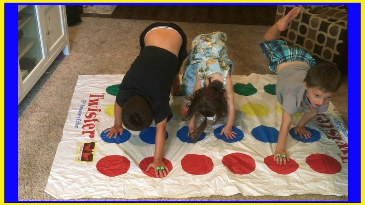 How to Play Twister - YouTube