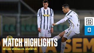 HIGHLIGHTS   Hellas Verona vs. Juventus (Serie A 2020-21)