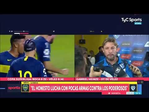 Qué dijo el Gringo Heinze sobre su continuidad en Vélez