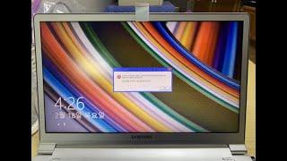 서초동 컴퓨터수리 삼성 NT900X4D 노트북을 사용하…