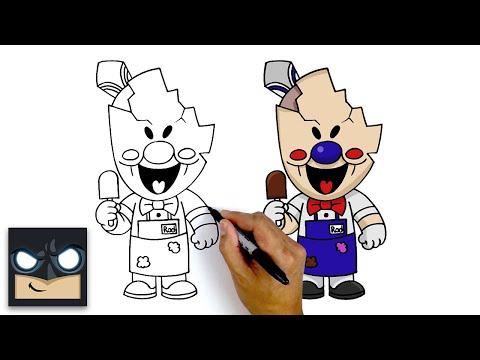 How To Draw Rod | Ice Scream