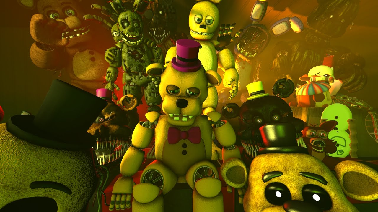 fnaf song sweet dreams old video plz don t watch this