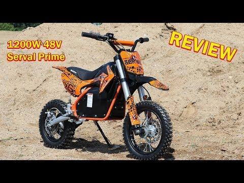 Serval Prime 1200w 48v Electric Dirt Cross Bike Full Review Nitro Motors Youtube