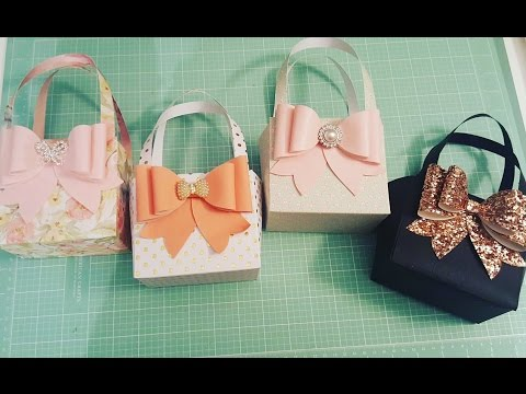 More gorgeous paper purses with bows!