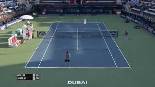 Andy Murray Hot Shot Dubai 2015