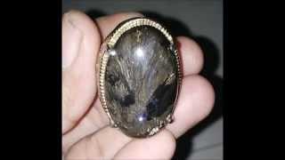 Batu Akik Bulu Macan Lumajang