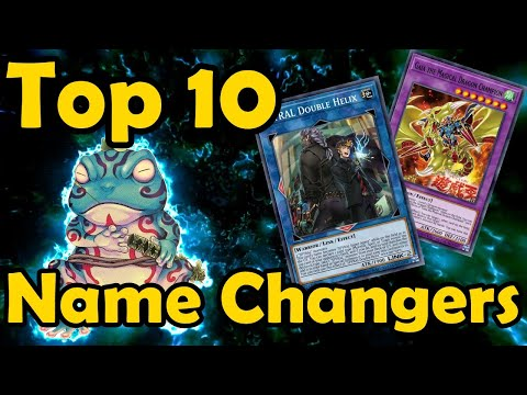 Top 10 Cards That Are Treated As Another Name In YuGiOh