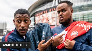 HOW WELL DOES CHUNKZ KNOW ARSENAL? YUNG FILLY FORFEIT CHALLENGE