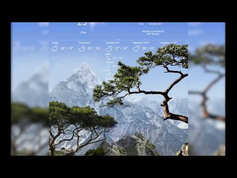 Parallax 3d Effect Wallpaper Pro Realistic Weather All Seasons Live Wallpaper App Report On