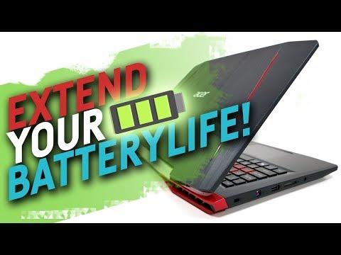 Longer Battery Runtime For Gaming Laptops Youtube