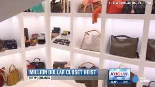$1 Million Burglary: 3-story 'she-cave' Closet Targeted