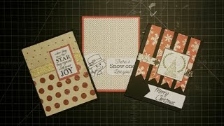 Three Easy Christmas Cards {Pinterest Inspired}