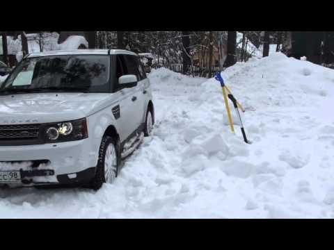 RRS на шипованной резине в снегу, часть 1