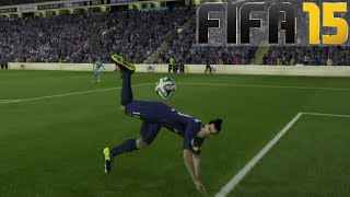 FIFA 15 SCORPION KICK TUTORIAL / How to do it / How to score / Tips & Tricks / Best FIFA Guide(Can we smash 350 likes for this amazing move? ▻Buy cheap & safe coins here http://goo.gl/fHGcve 5% Discount Code