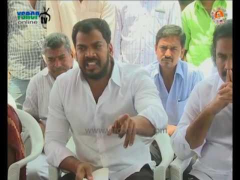 Nellore : YSRCP MLA Anil Kumar fire on Chandrababu Government - 22nd Aug 2016