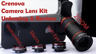 Crenova Camera Lens Kit Unboxing & Review [Deutsch]