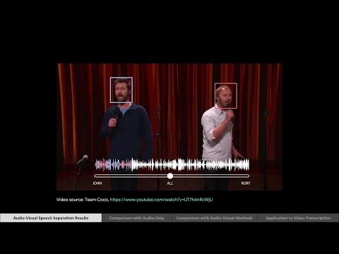 Looking to Listen: Audio-Visual Speech Separation