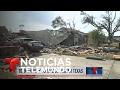 Fuertes tormentas y tornados azotan Texas | Noticiero | Noticias Telemundo