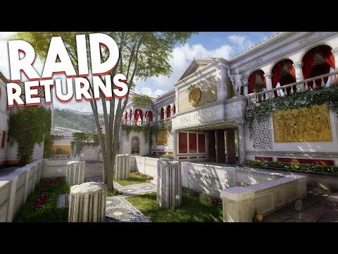 NEW 'RAID' REMAKE IN BLACK OPS 3 DESCENT DLC 3 (RAID BO3 DESCENT DLC 3)