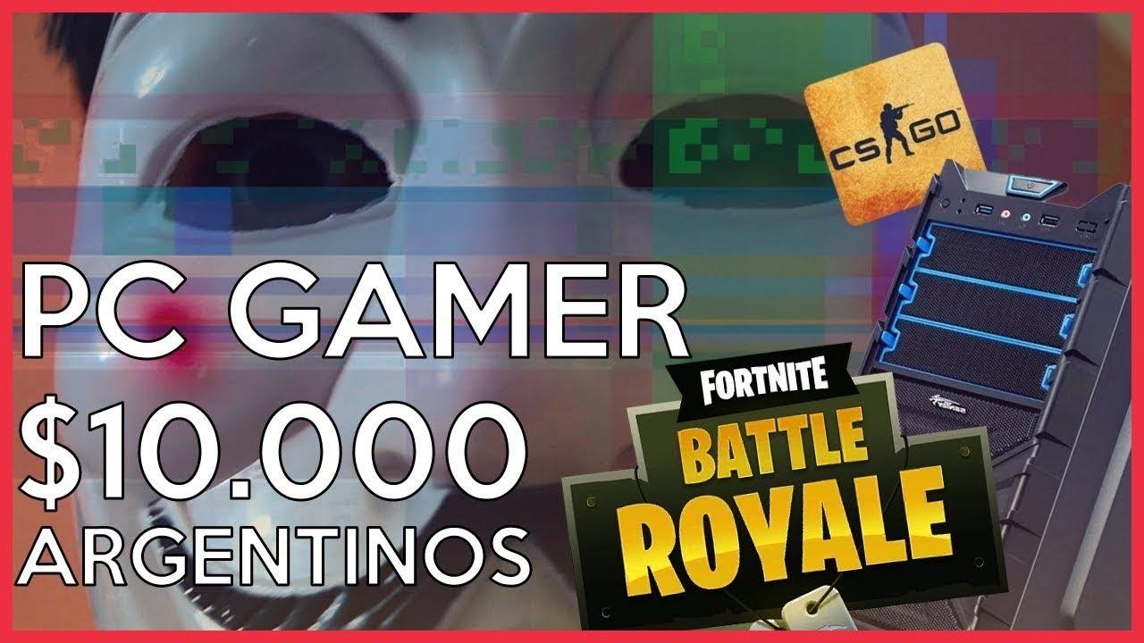 COMO ARMAR PC GAMER barata argentina 2019