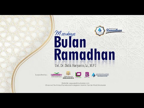 Mengetahui Masuknya Bulan Ramadhan | Ustadz. Dr. Didik Hariyanto, Lc., M.P.I.