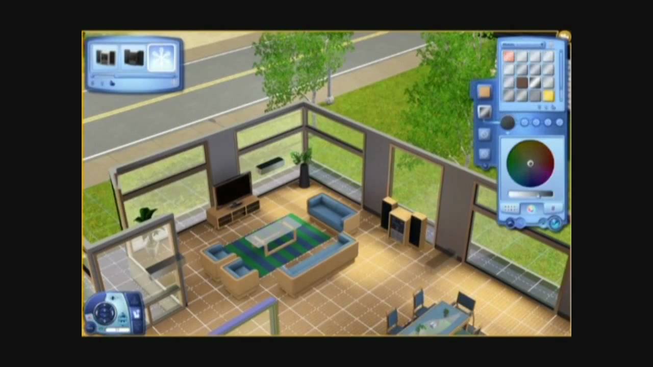 De sims 3 het huis aan de oever deel 2 interieur for Huis interieur tips