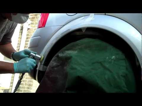 Smart as Paint.How to prepare a scratched car panel Pt 1