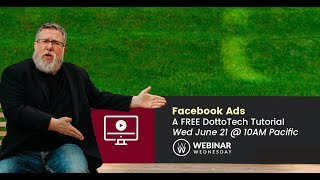 Getting Started with Facebook Ads - Webinar Replay - available for 48 hours