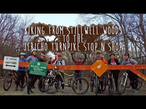 Riding from Stillwell Woods to Jericho Turnpike, Syosset, NY