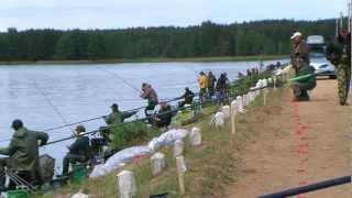 Рыболовный спорт. Кубок Могилёвской области. Чигиринка 2012