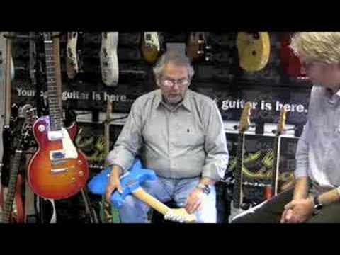Trev Wilkinson and Encore guitars