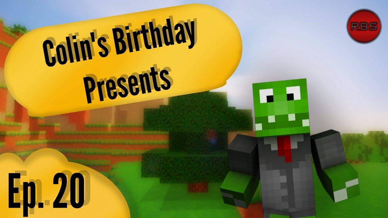 minecraft birthday presents