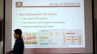 NVRAM and Operating Systems lecture - Sean Lim - part 6