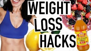 Weight loss hacks, real ways to be healthy, weird more about how healthy and not just lose fast! life hacks ever...