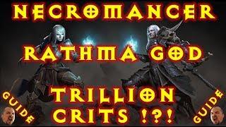 Video Diablo 3 Rathma God Trillion Crit Necromancer Summoner Build 2.6 download MP3, 3GP, MP4, WEBM, AVI, FLV Januari 2018