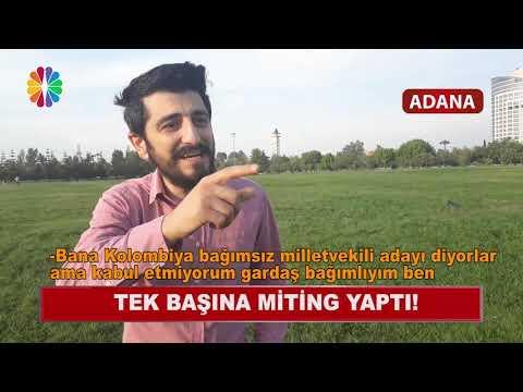 Adana Bağımsız Milletvekili Adayı Tek Başına Miting Yaptı - Röportaj Adam