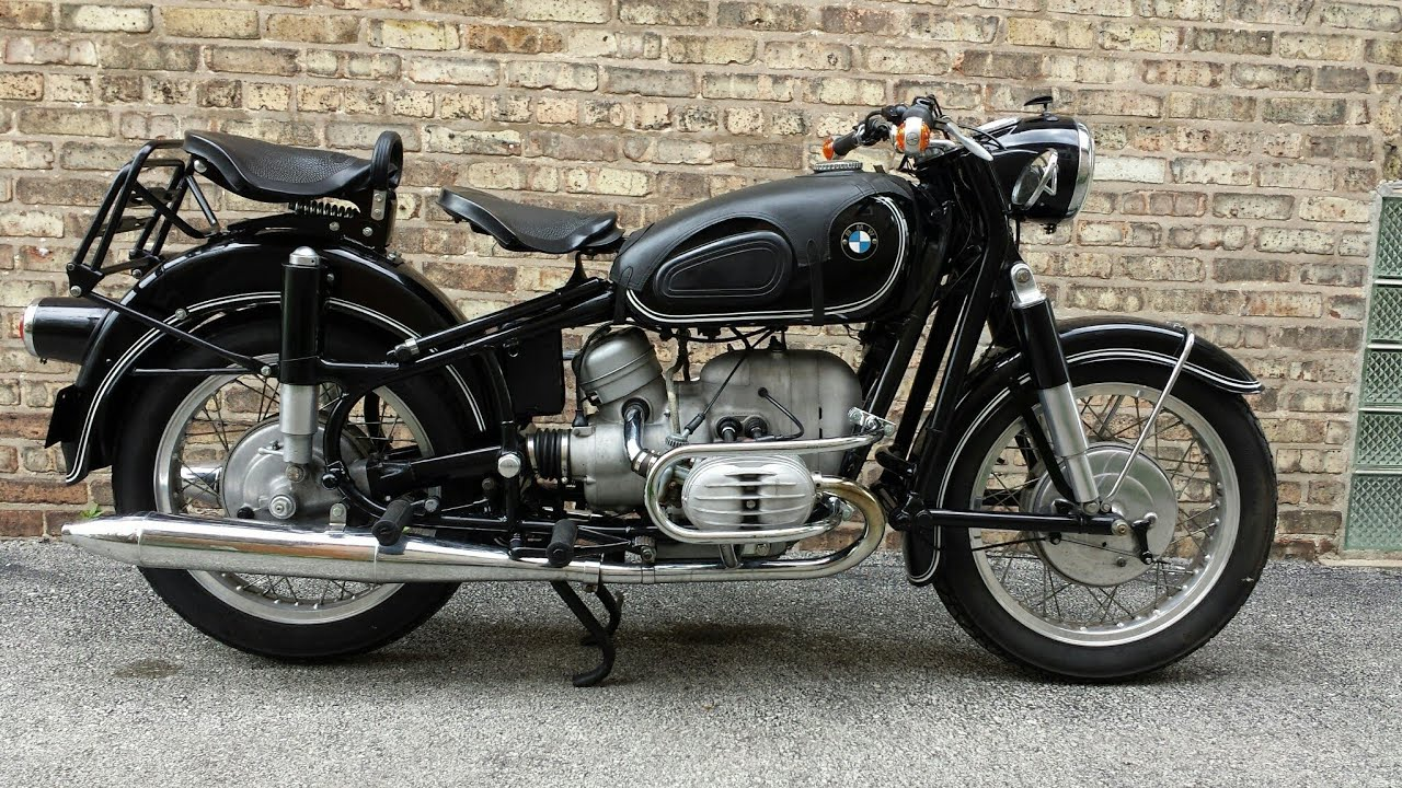1959 Bmw R50 Earls Fork Motorcycle Youtube