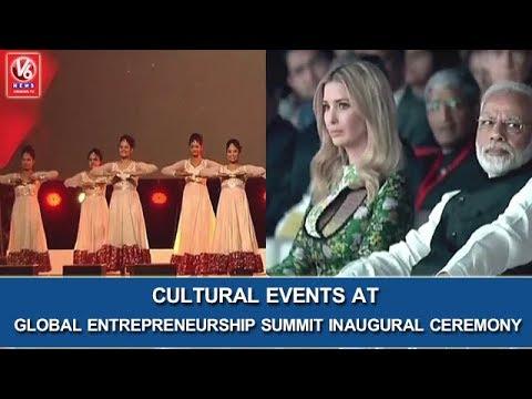 GES 2017 | Cultural Events At Global Entrepreneurship Summit Inaugural Ceremony | V6 News