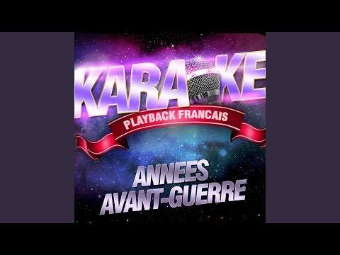 Etoiles Des Neiges — Karaoké Playback Instrumental — Rendu Célèbre Par Line Renaud