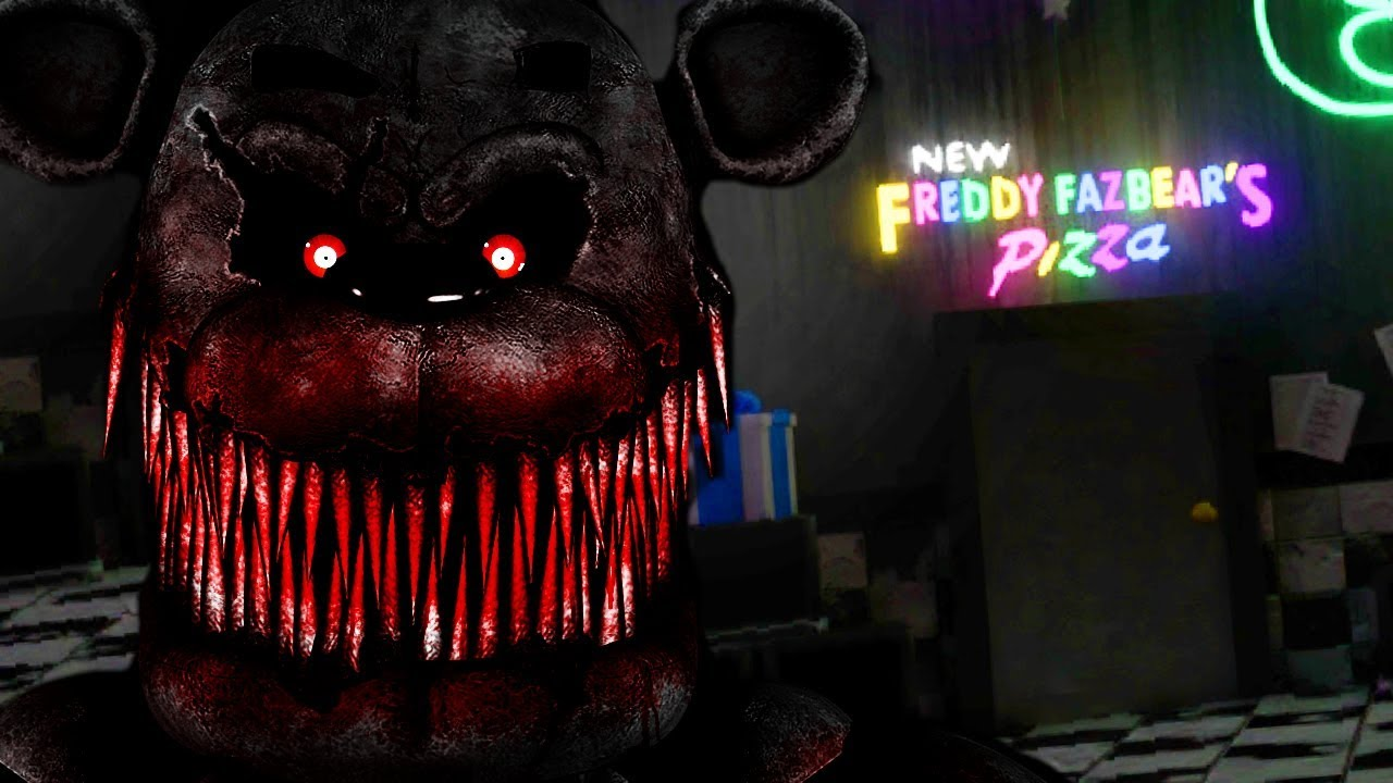 spending-the-night-at-a-fnaf-museum-the-animatronic-came-to-life-fnaf-hidden-gems
