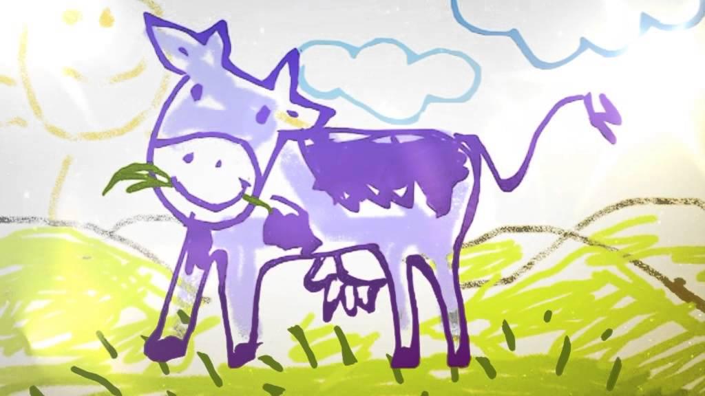 картошка фрии, помидоры на деревьях, фиолетовая корова на ...