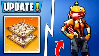 *HUGE* Fortnite Update! | New SKINS, ZIPLINE, Vehicle Decorations! ( 5.2 Leaks )